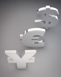 ©Paviot-photo-nature-morte-sigles-dollar-Yen-Euro