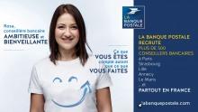 Campagne recrutement La banque postale vis 1